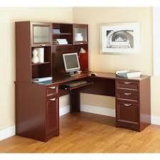 realspace magellan collection l shaped desk espresso realspace magellan collection l shaped desk espresso item 101095