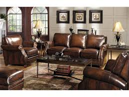 king hickory leather sofa craftmaster l1215 traditional leather sofa with rolled arms and