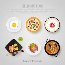 premium cuisine delicious food template vector premium