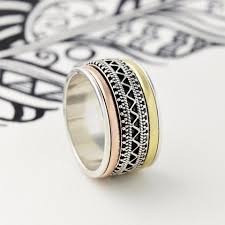 mens spinner rings men s spinner rings unique boho jewellery s web