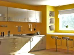 white kitchen cabinets yellow walls cabinetry with white floor and yellow walls modern design