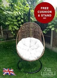Patio Egg Chair Pear Shape Wicker Rattan Outdoor Egg Chair Hanging Garden Choice