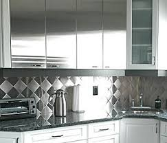 stainless steel backsplashes for kitchens stainless steel backsplashes it or it popsugar home