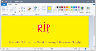 microsoft to remove classic paint app from windows 10 this fall