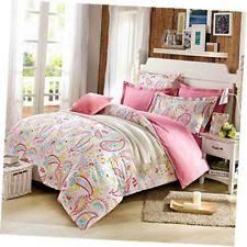 Paisley Duvet Cover Set Cliab Paisley Bedding Pink Full For Teen Girls Duvet Cover Set 100