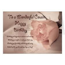 cousin birthday card cousin birthday cards invitations greeting photo cards zazzle