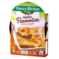 plats cuisiné fleury michon hachis parmentier 300 g auchan direct