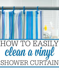 cleaning a plastic shower curtain best curtain 2017