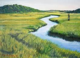 Nauset Marsh Cape Cod - gallery north carolina artist tom mccarty