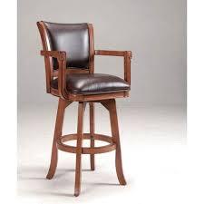 bar stools wood and leather bar stools bellacor