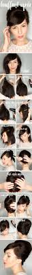 Very Easy Hairstyles For Short Hair by Best 20 Short Hair Updo Ideas On Pinterest Hair Updos Short