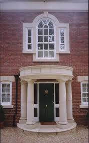 interior astounding front porch portico design ideas with cream