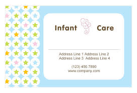 babysitting u0026 infant care print template pack from serif com