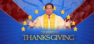 december month of thanksgiving