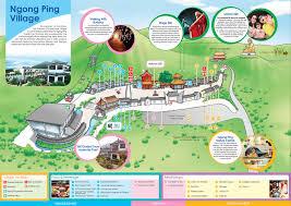 Cable Car Map Hong Kong Day Tour Hong Kong Day Trip Ngong Ping Village