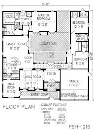 small courtyard house plans design 3 house plans with inner courtyard 17 best ideas about