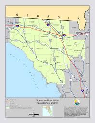 Okefenokee Swamp Map Suwannee River Basin Watershed Organizations And Suwannee Satilla