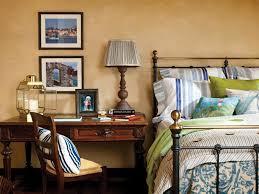 Coastal Bed Frame Bedroom Traditional Coastal Bedroom Idea With Iron Bed Frame
