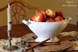 Apple Home Decor Making Faux Caramel Apples For Fall Decor House Of Hawthornes