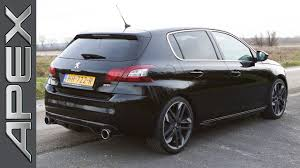 peugeot 2 door sports car peugeot 308 gti by peugeot sport 270 pk testdrive english