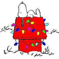 snoopy christmas dog house doghouse gifs search find make gfycat gifs