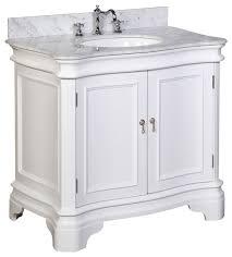chelsea 36 bath vanity with white quartz marble top bathroom best