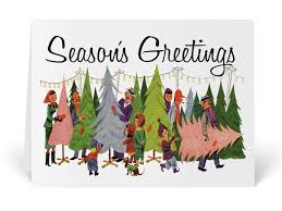 retro christmas cards mid century retro vintage card 36514 harrison