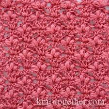 pattern of crochet stitches crochet stitch pattern cherry blossoms detailed description and