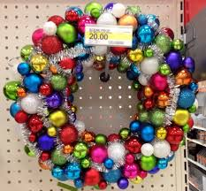 how to make a wreath out of ornaments holidappy