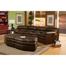 Chestnut Leather Sofa Furniture Omnia Leather Sofa With Indoor Plants And Side Table