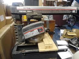 Craftsman Radial Arm Saw Table Public Surplus Auction 1821776