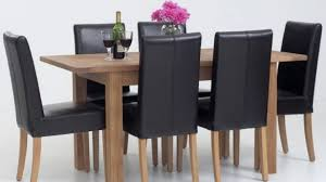 Leather Dining Room Furniture Alluring Excellent Dining Room Table Sets Leather Chairs 84 With