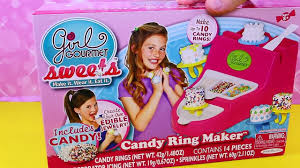 Edible Candy Jewelry Candy Ring Maker Gourmet Sweets Cake Pop Sprinkles U0026 Candy
