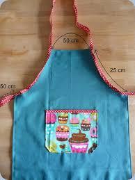 patron tablier de cuisine enfant tuto tablier pour enfant couture tricot crochet and tricot