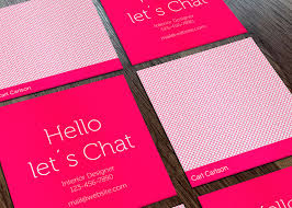 photo card mini card printing custom mini business cards 4over4