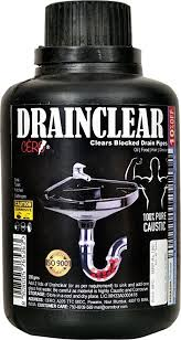 sink not draining but pipes clear cero drainclear dry powder to clear clogged drains sinks and