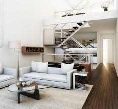 modern small loft decorating ideas with nice small area rugs