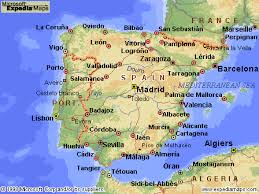 maps of spain spain map travel and tourist information flight reservations