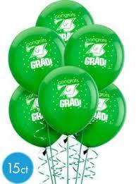 congrats grad green graduation balloon party city graduation