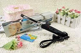 Catok Yang Kecil metal hair curlers catok keriting rambut black jakartanotebook