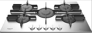 ariston piani cottura piano cottura hotpoint ariston gas 5 fuochi 75 cm ftghl 751d ix