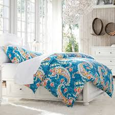 Teen Floral Bedding Paisley Blossoms Duvet Cover Pbteen