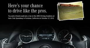 mercedes giveaway mercedes giving away two free amg driving spots