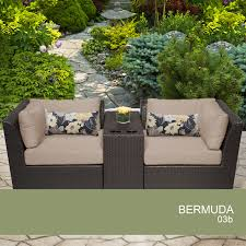 Outdoor Wicker Patio Furniture - traditions metal 3 piece patio bistro furniture set product