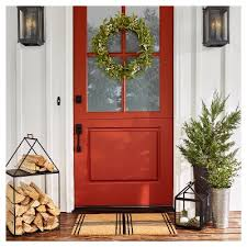 Target Christmas Decorations For Outside by Doormats Target