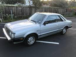 subaru brat for sale craigslist no pillars cold a c 1600 1982 subaru glf coupe bring a trailer