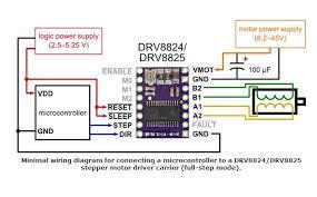 lerdge 3d printer stepstick accessories drv8825 stepper motor