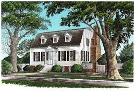 Gambrel Style House Plans by Gambrel With Secluded Master Suite 32457wp Architectural