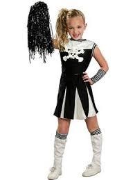 Halloween Costume Kids Girls Zombie Cheerleader Costume Homemade Halloween Costumes