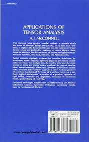 applications of tensor analysis dover books on mathematics